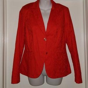 NWT   NY&Co. 7th Ave  Signature Jacquard blazer